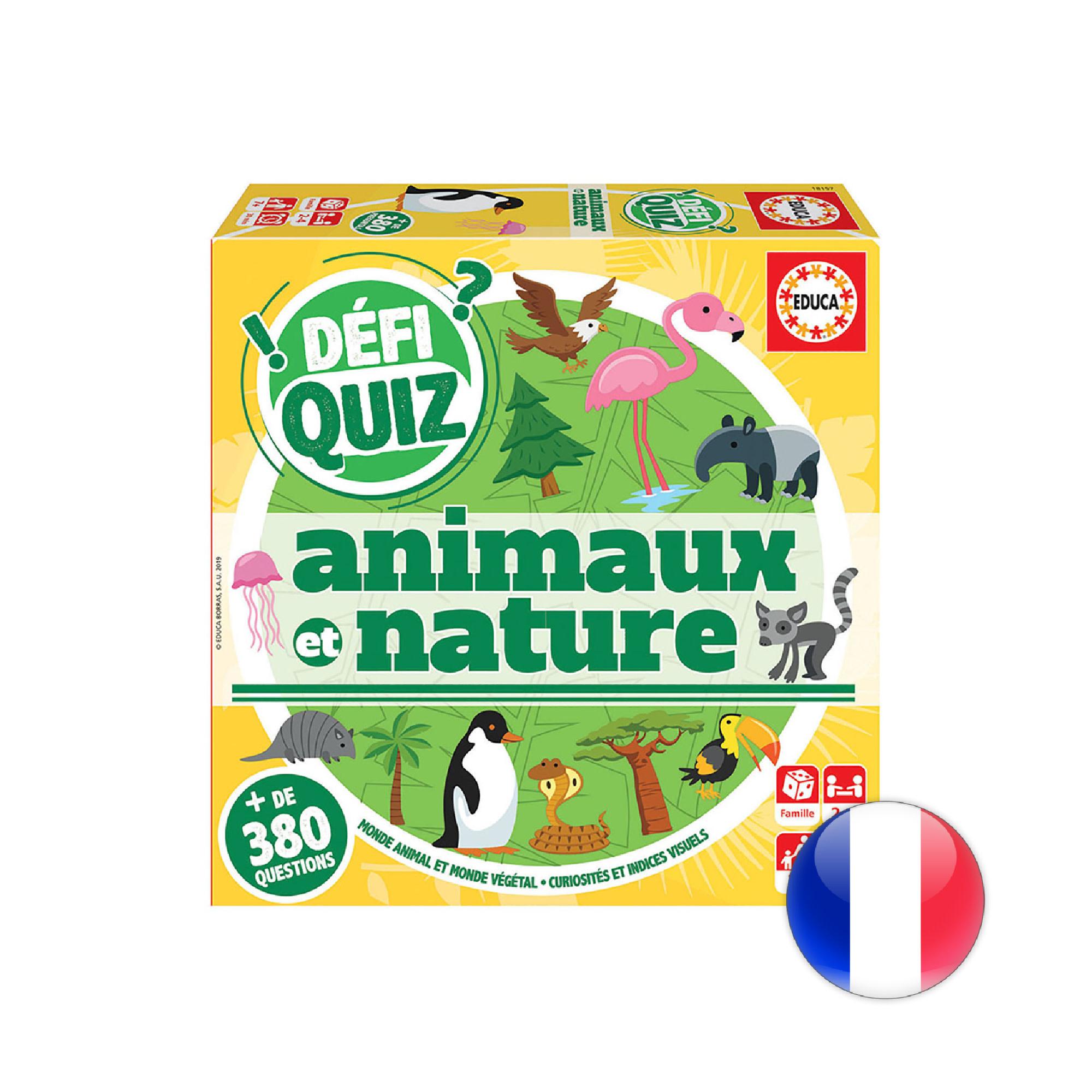 Educa Défi Quiz - Animaux et Nature