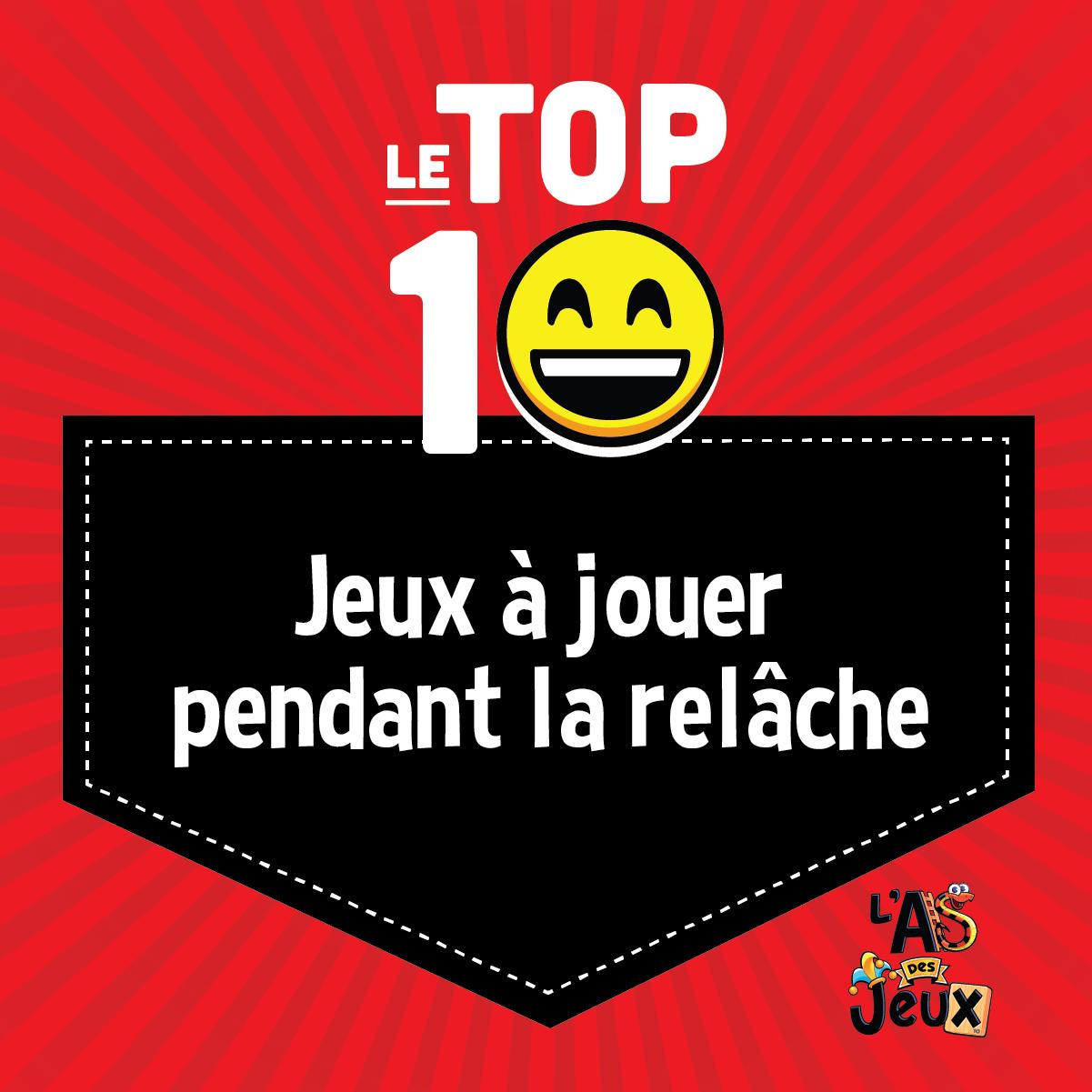 Top 10: Jeux à jouer pendant la relâche
