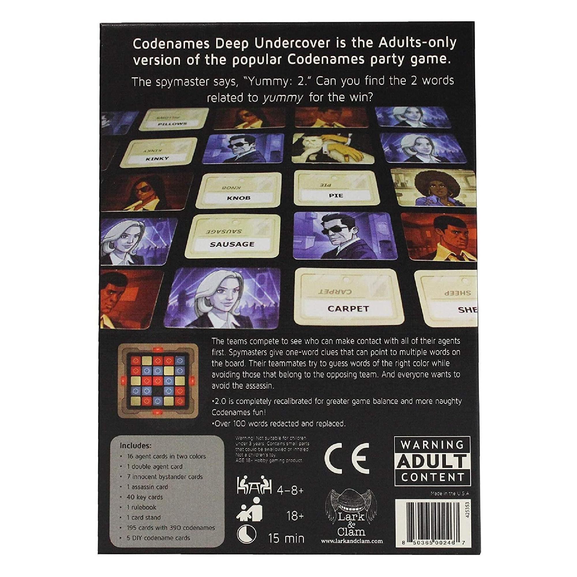 Czech Games Edition Codenames: Deep Undercover 2.0