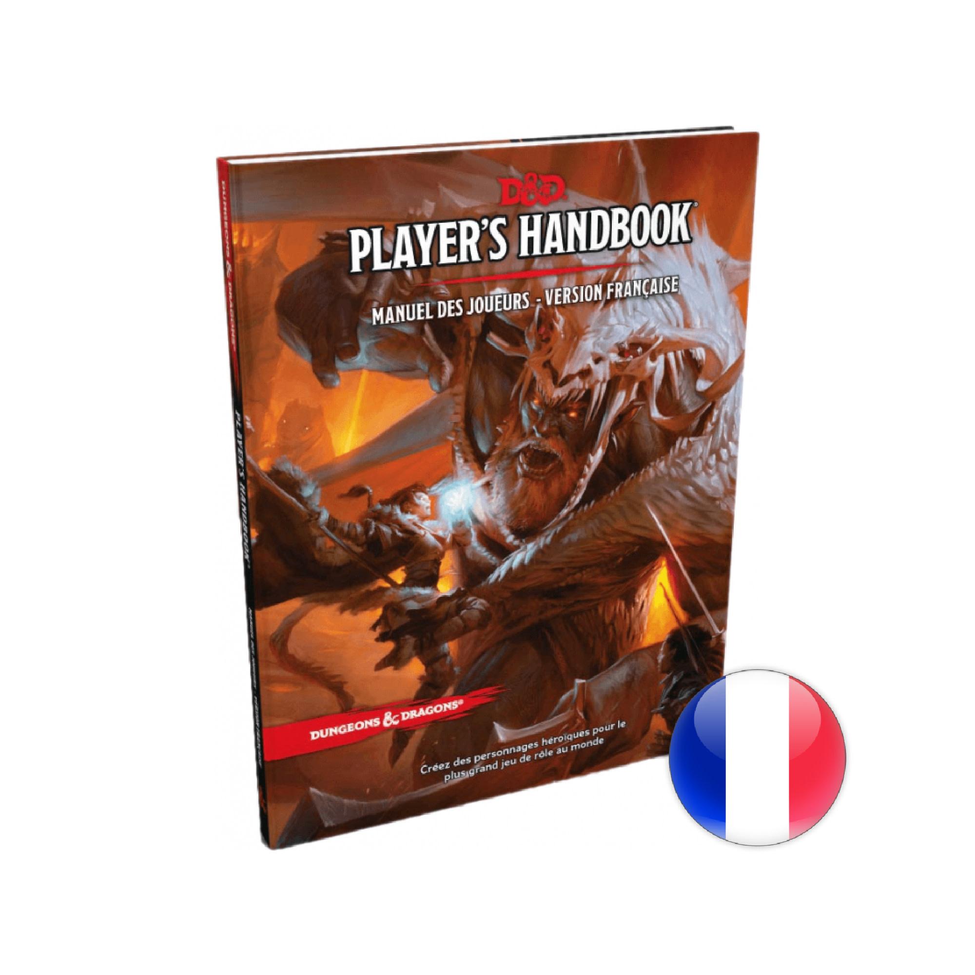 Gale Force Nine D&D 5e édition: Manuel des Joueurs