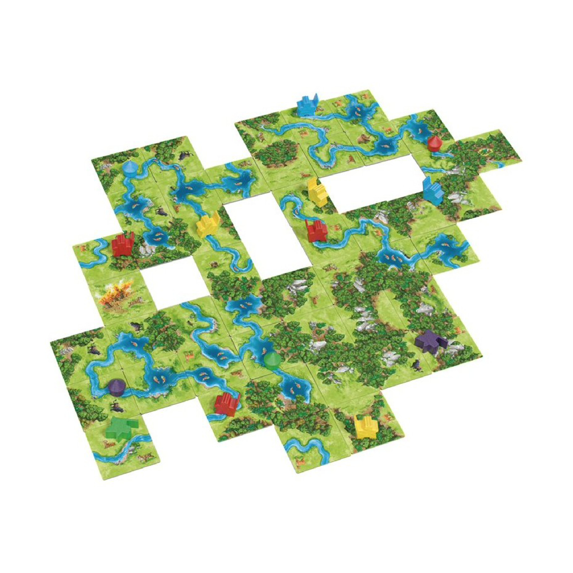 Z-Man Carcassonne: Hunters and Gatherers