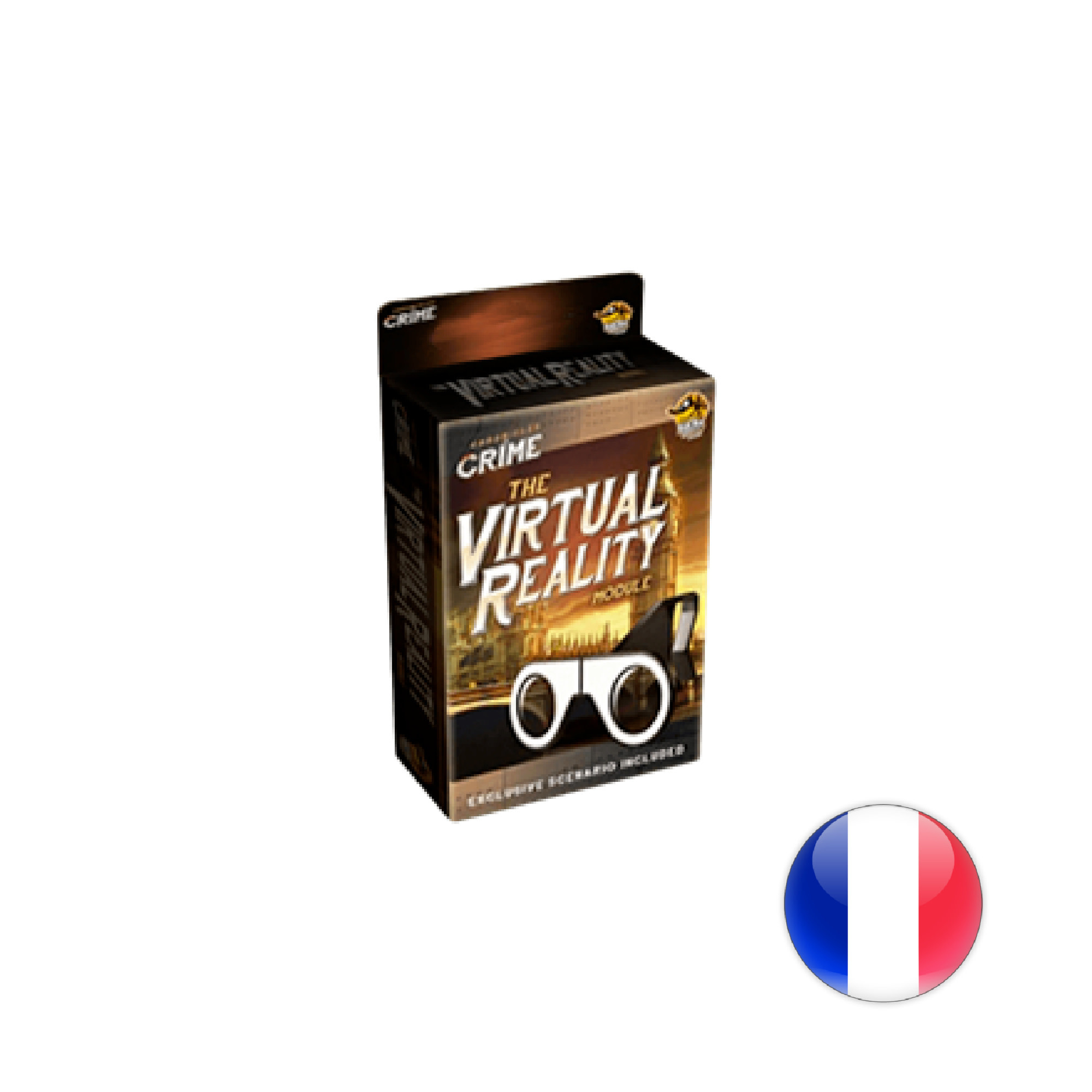 Lucky Duck Games Chronicles of crime Lunettes/Glasses
