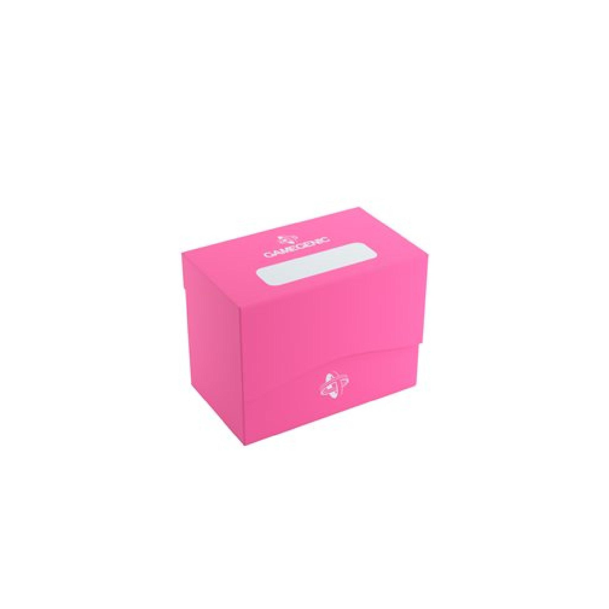 Gamegen!c Deck Box: Side Holder Pink (80ct)