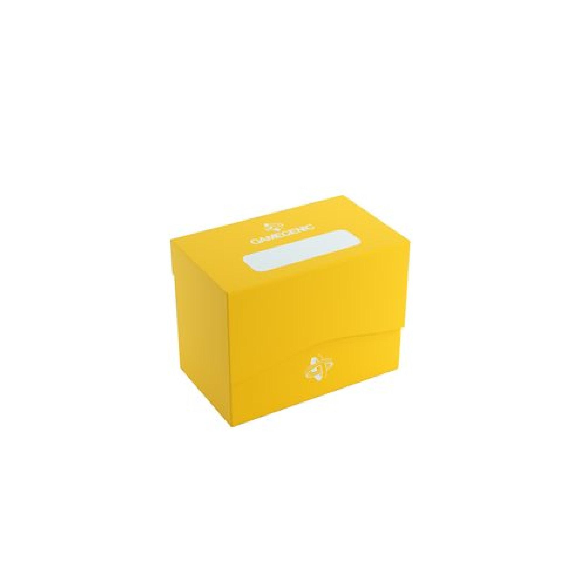 Gamegen!c Deck Box: Side Holder Yellow (80ct)