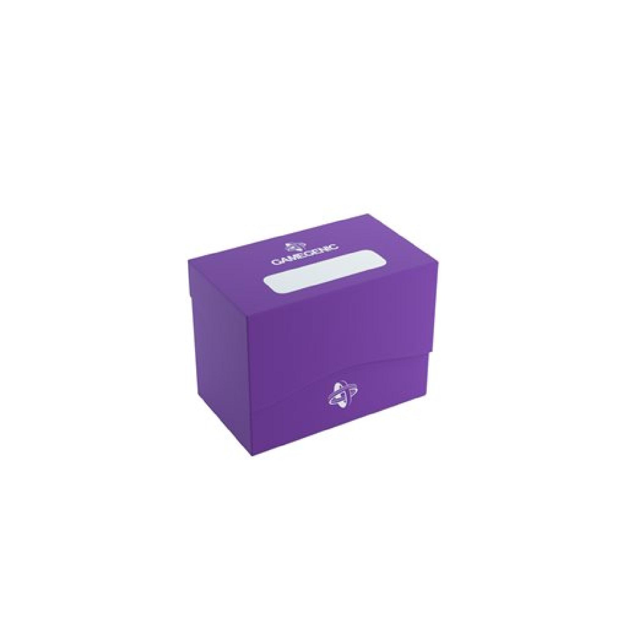Gamegen!c Deck Box: Side Holder Purple (80ct)