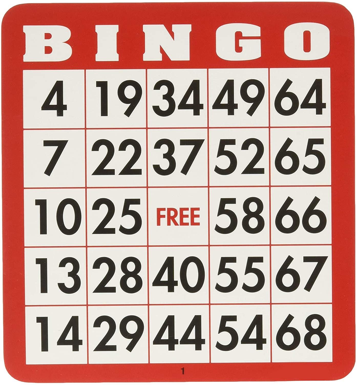 100 cartes de Bingo