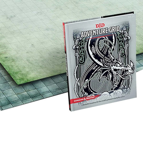 Wizards of the Coast D&D Dungeons & Dragons: Adventure Grid