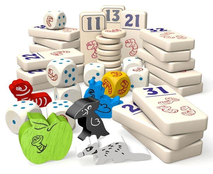 Pièces du jeu Pick-Omino