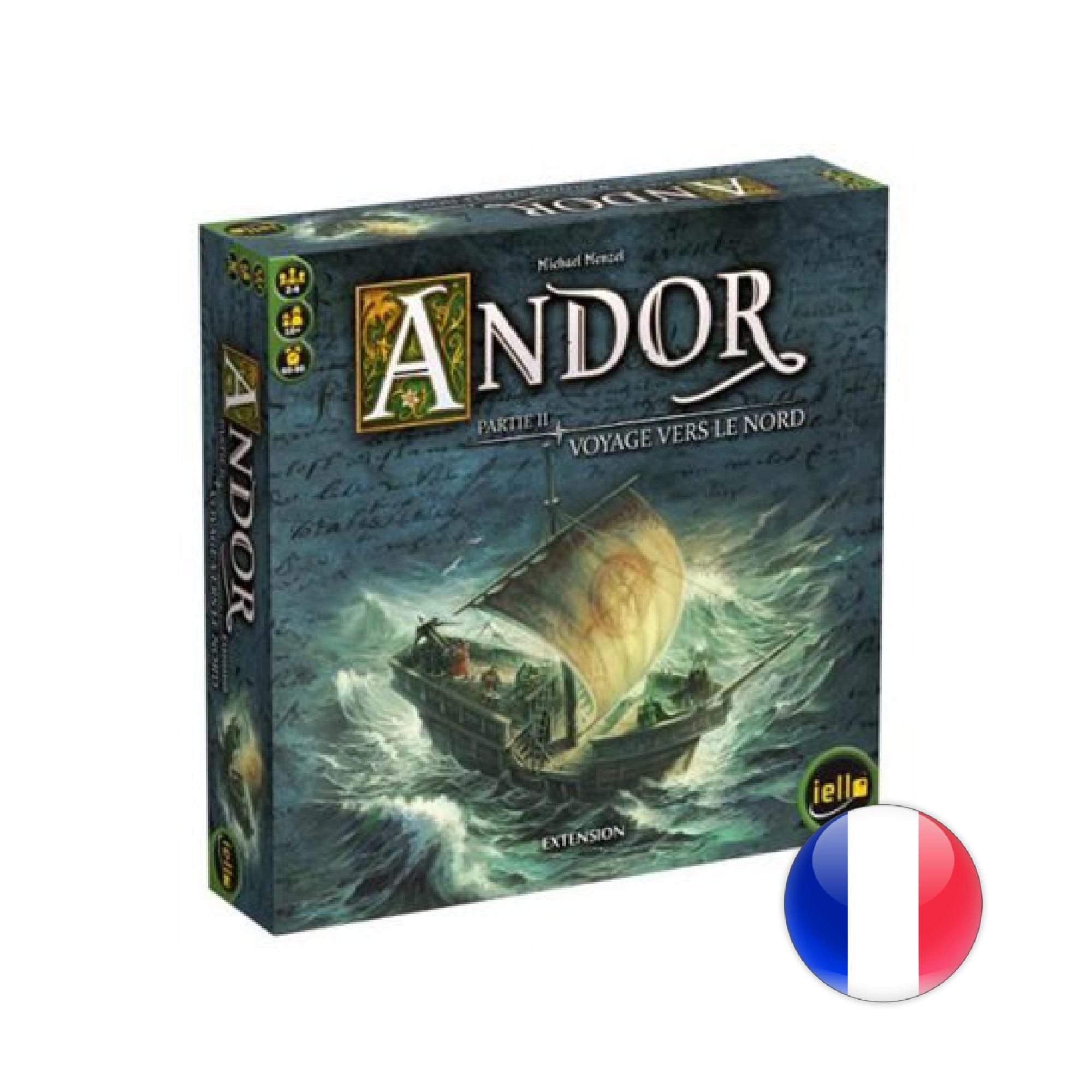 IELLO Andor Ext: Voyage vers le Nord