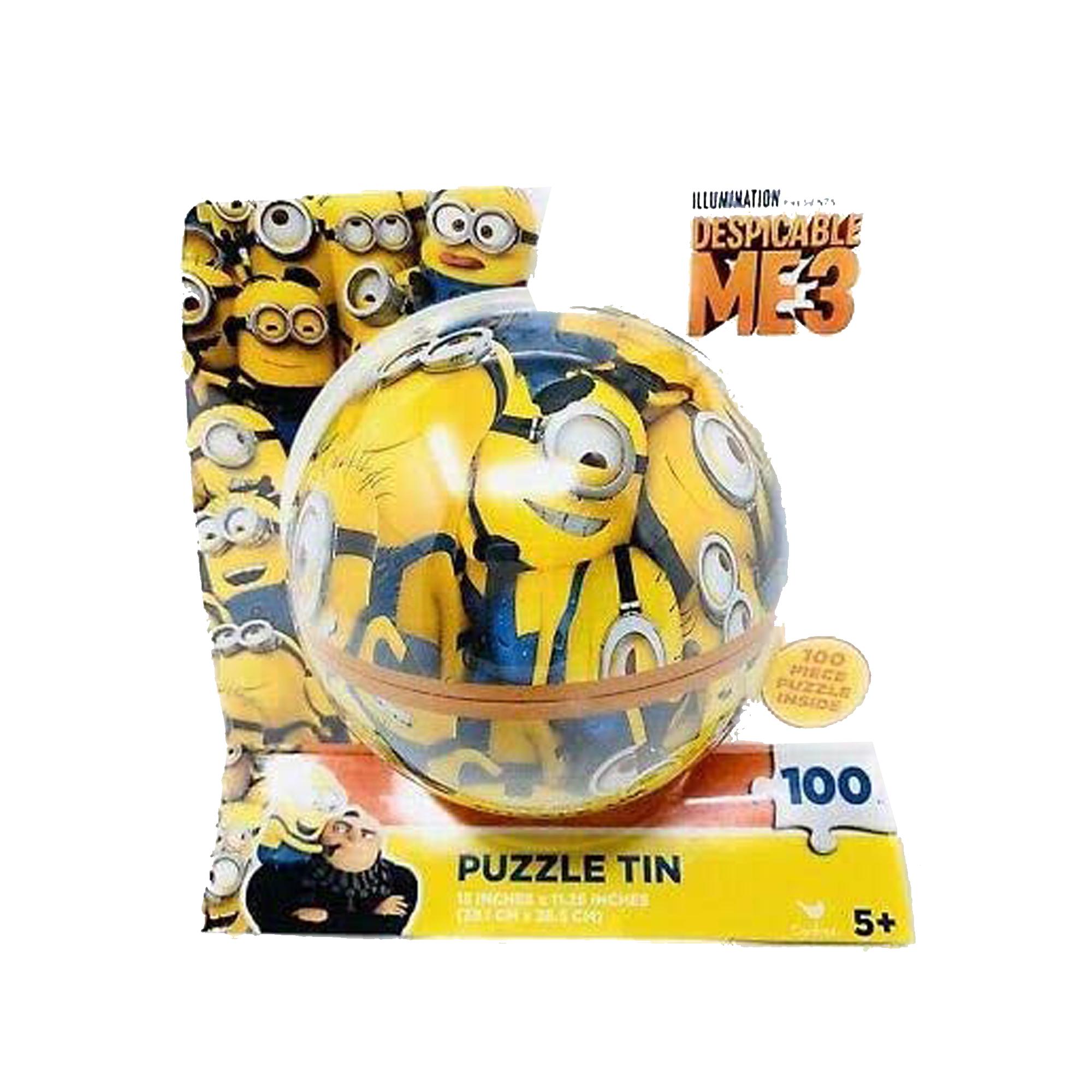 100 puzzle tin: despicable me 3
