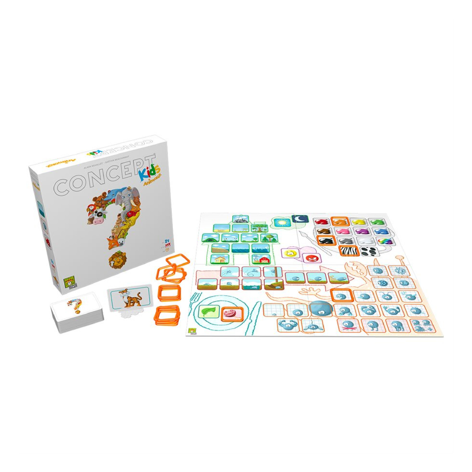 Repos Production Concept Kids animaux VF