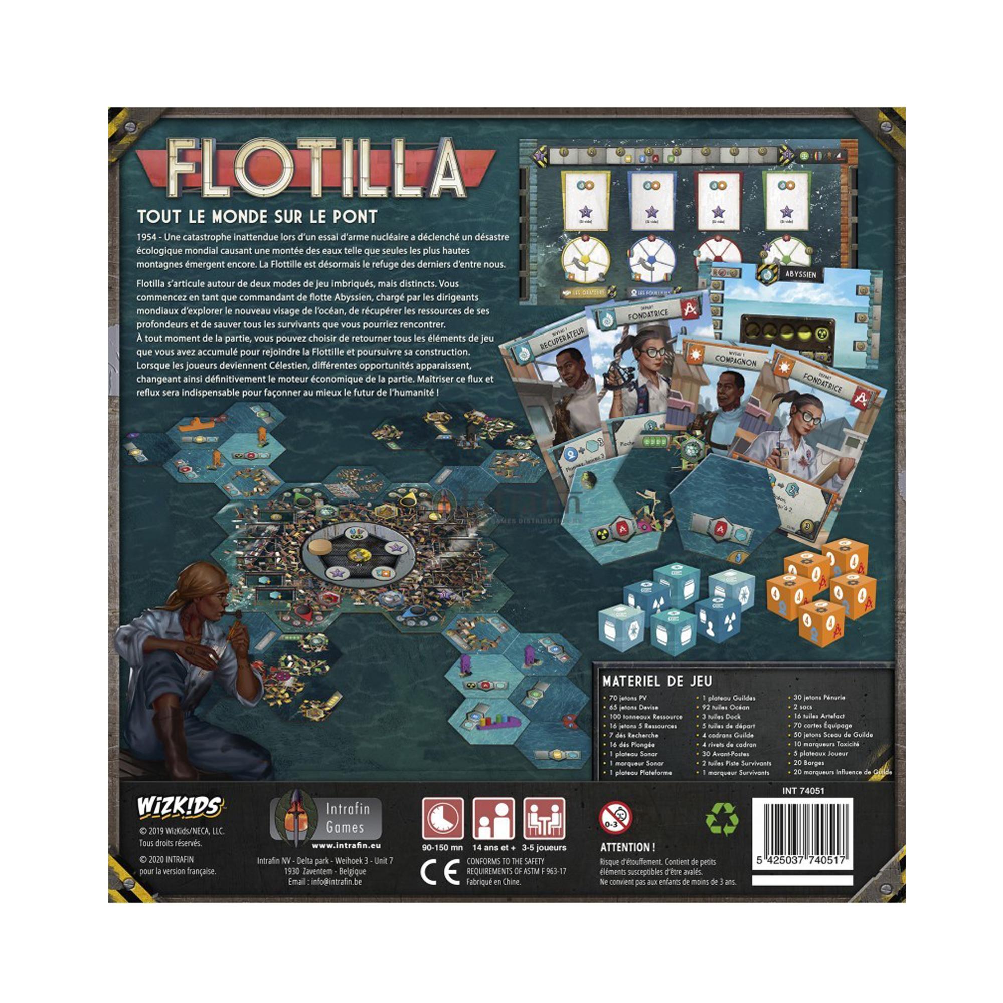Wizkids Games Flotilla - jeu de plateau
