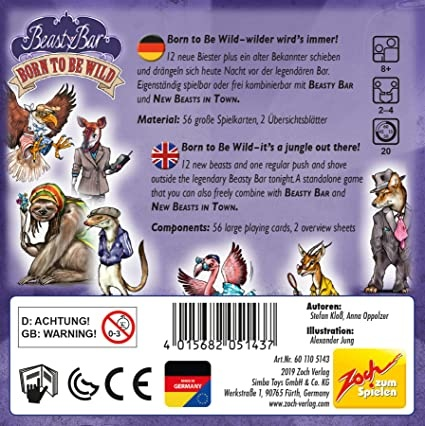 Zoch Verlag Beasty Bar: Born to Be Wild