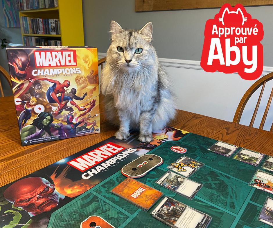 Marvel Champions - Approuvé par Aby