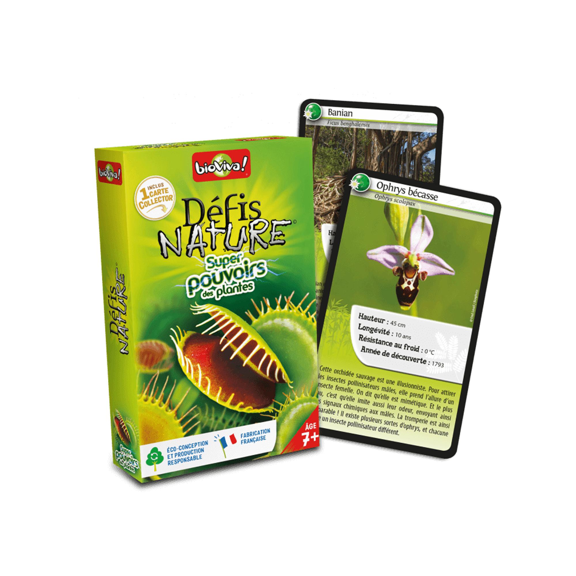 BioViva Défis Nature / Super pouvoirs des plantes