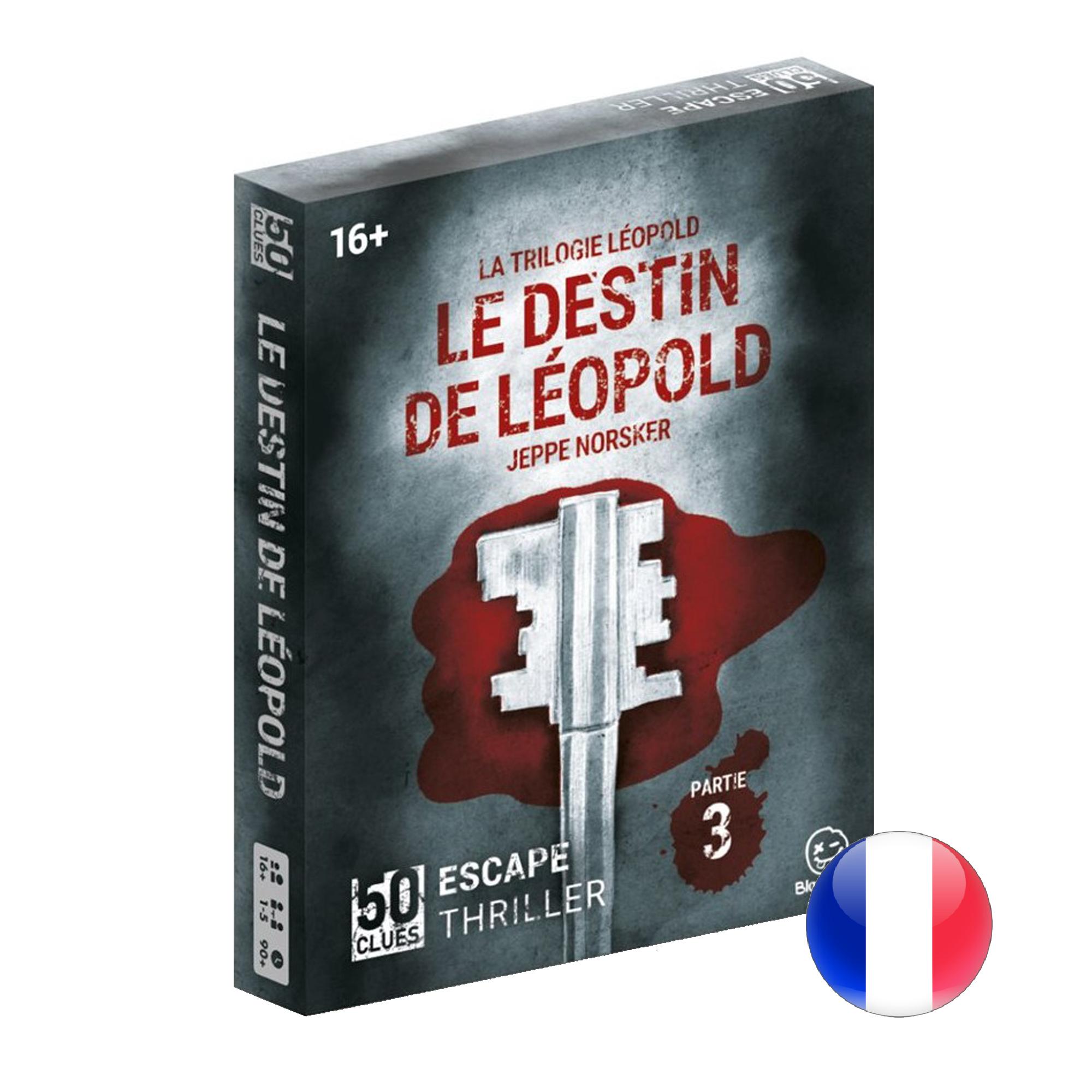 Norsker Games 50 Clues - Le destin de Leopold