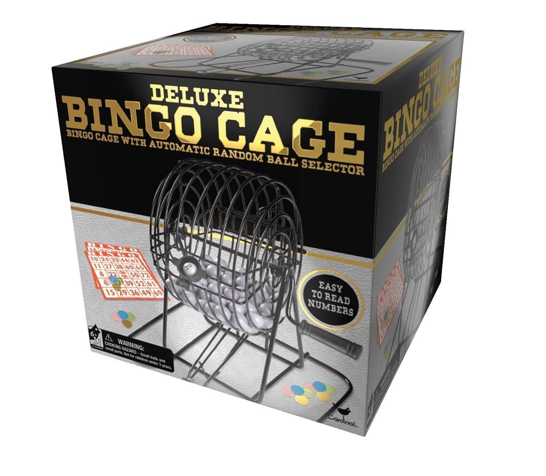 Spin Master Cage à Bingo en métal de luxe