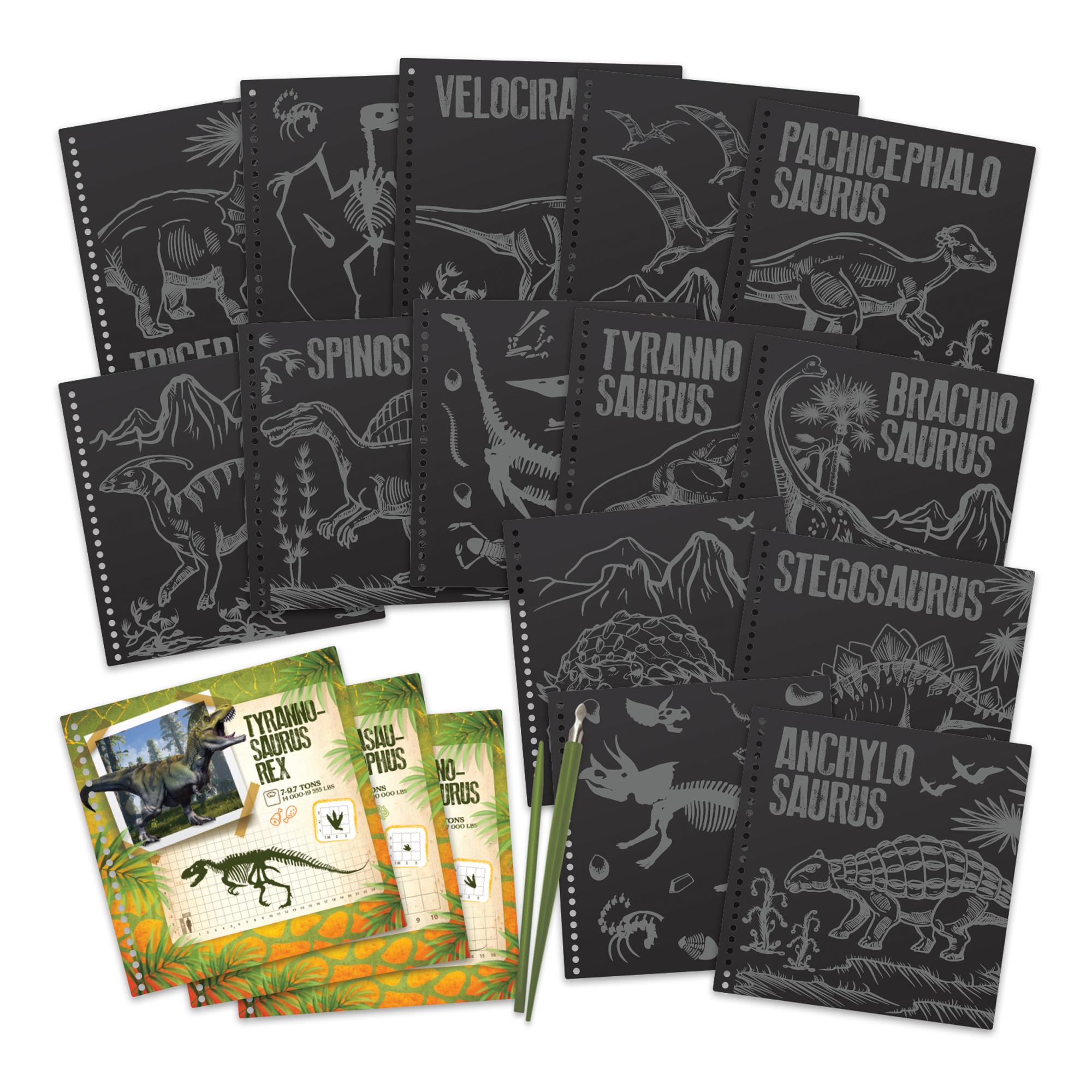 DinosArt Tableaux à gratter DinosArt