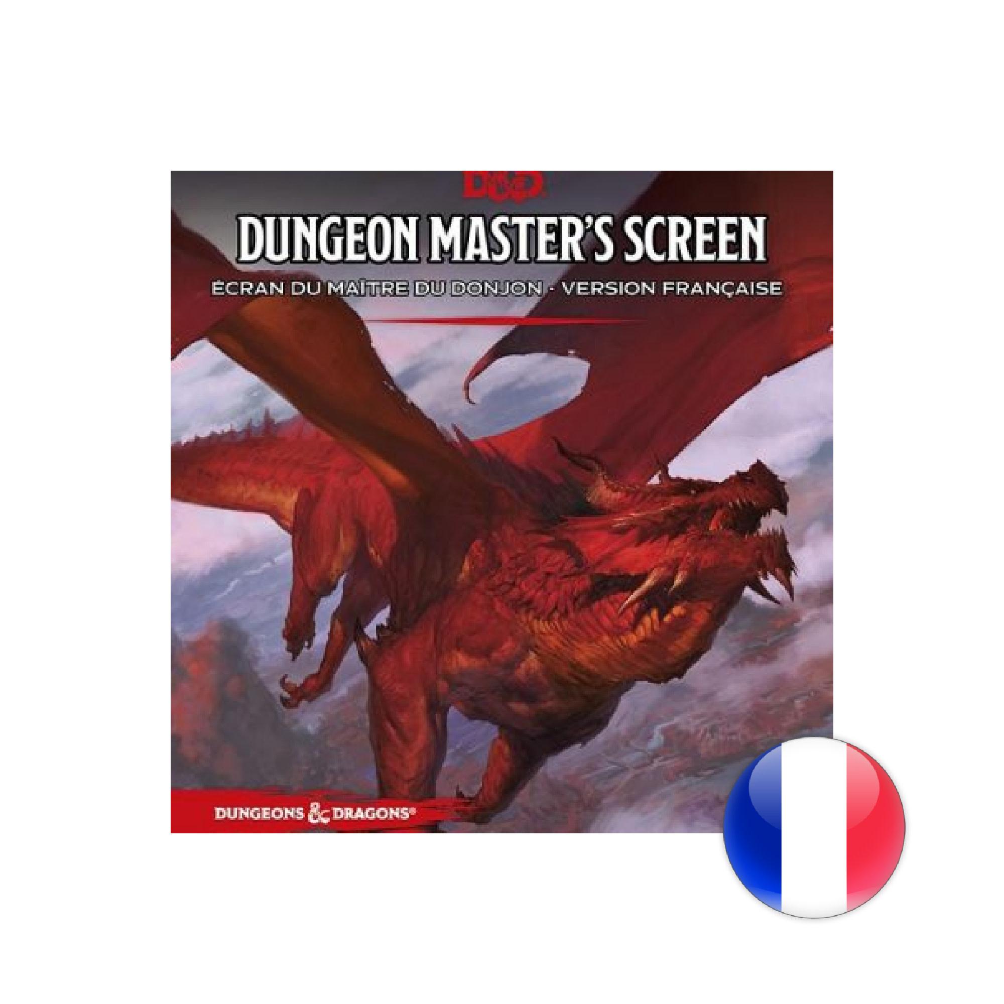 Wizards of the Coast D&D Dungeons & Dragons - 5e - Écran du Maitre VF