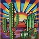 JaCaRou Cactus - Diamond Painting 30 X 30