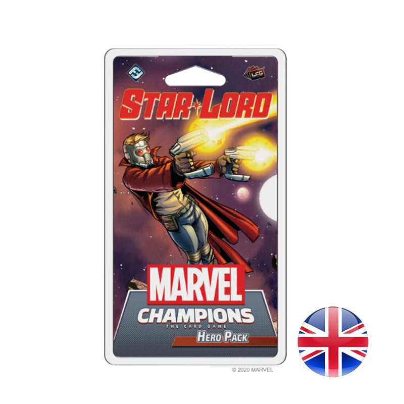 Fantasy Flight Games Marvel Champions LCG: Star-Lord Hero-Pack