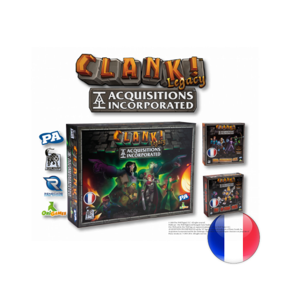 Origames Clank Legacy: Acquisitions Incorporated VF - Avant-Première