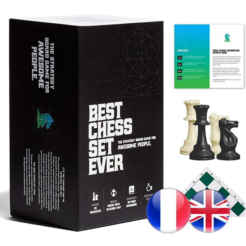 Best Chess Set Ever Best Chess Set Ever XL (Green) - Échecs
