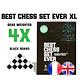 Best Chess Set Ever Best Chess Set Ever XL (Black) - Échecs