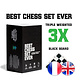 Best Chess Set Ever Best Chess Set Ever (Black)  - Échecs
