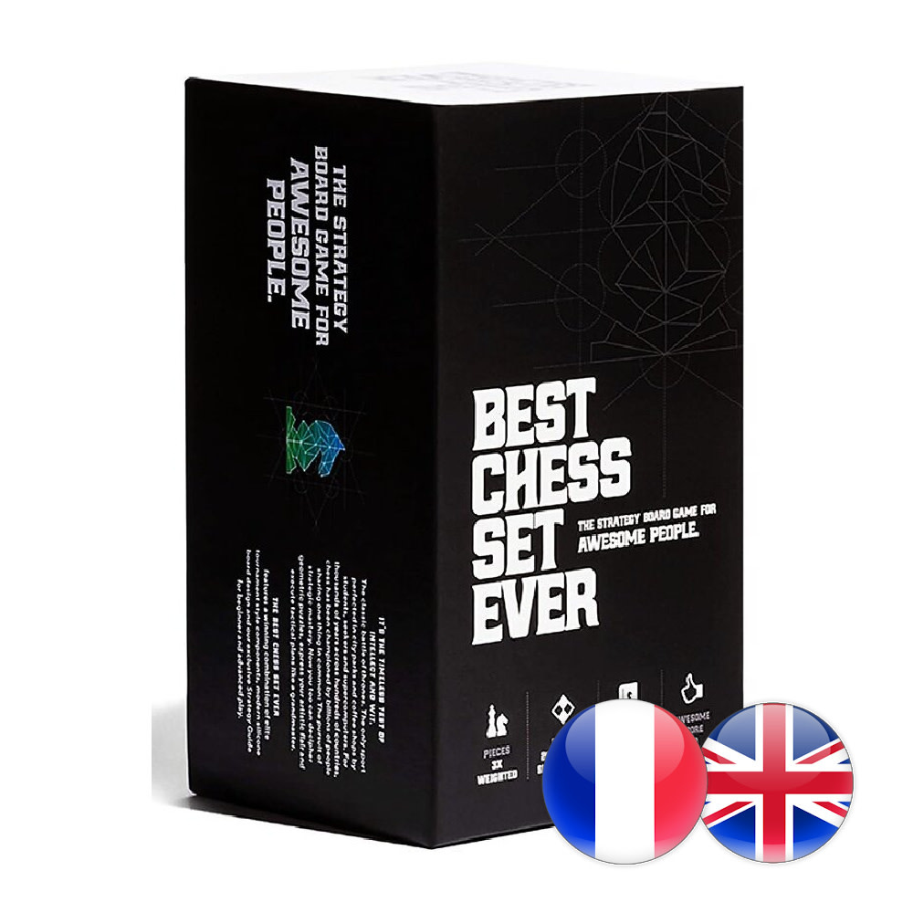 Best Chess Set Ever Best Chess Set Ever XL (Blue) - Échecs