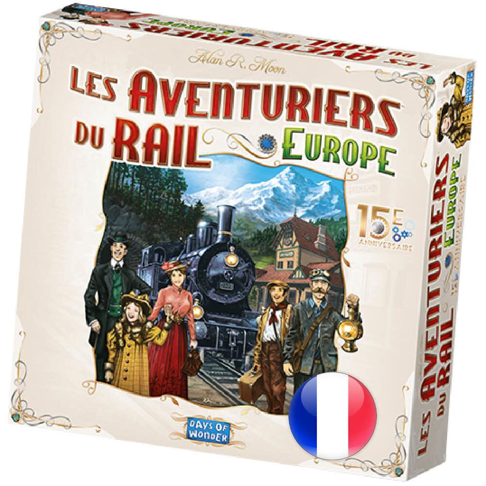 Days of Wonder Aventurier du rail  Europe 15e anniversaire