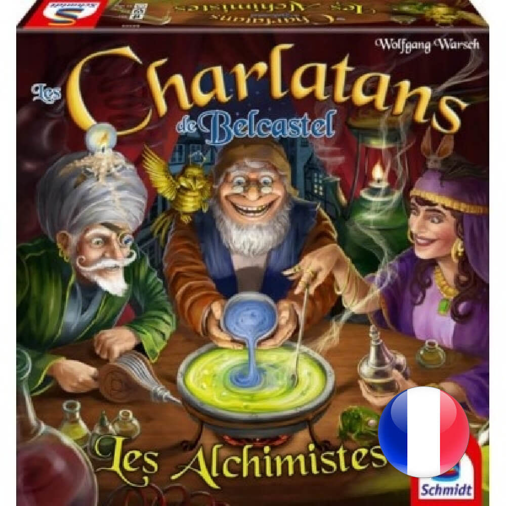 Schmidt Charlatans de Belcastel - Alchimistes