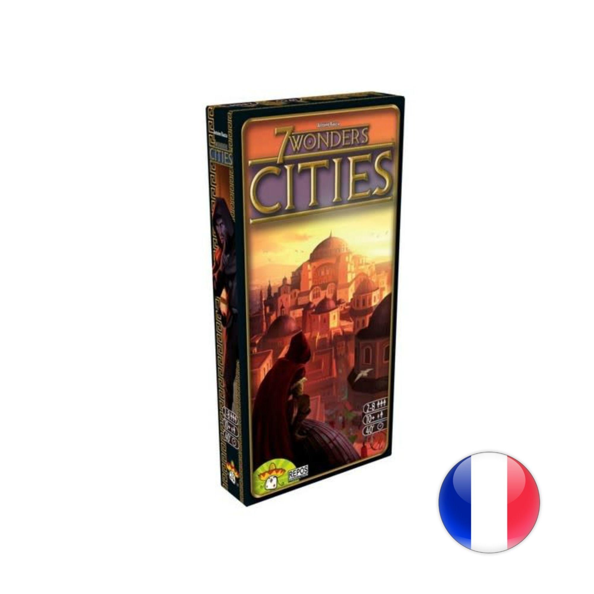 Asmodee 7 Wonders: Cities VF