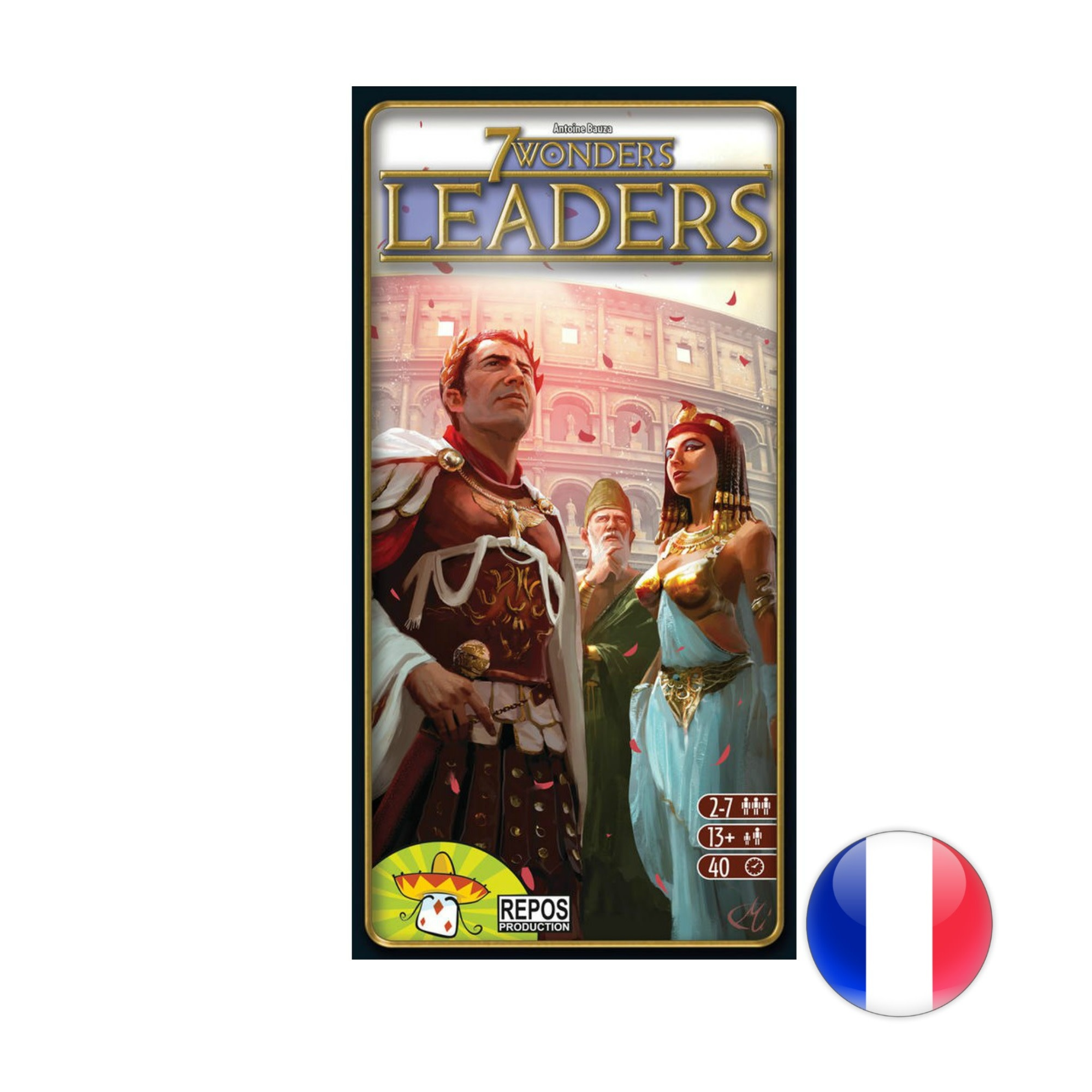 Asmodee 7 Wonders: Leaders VF