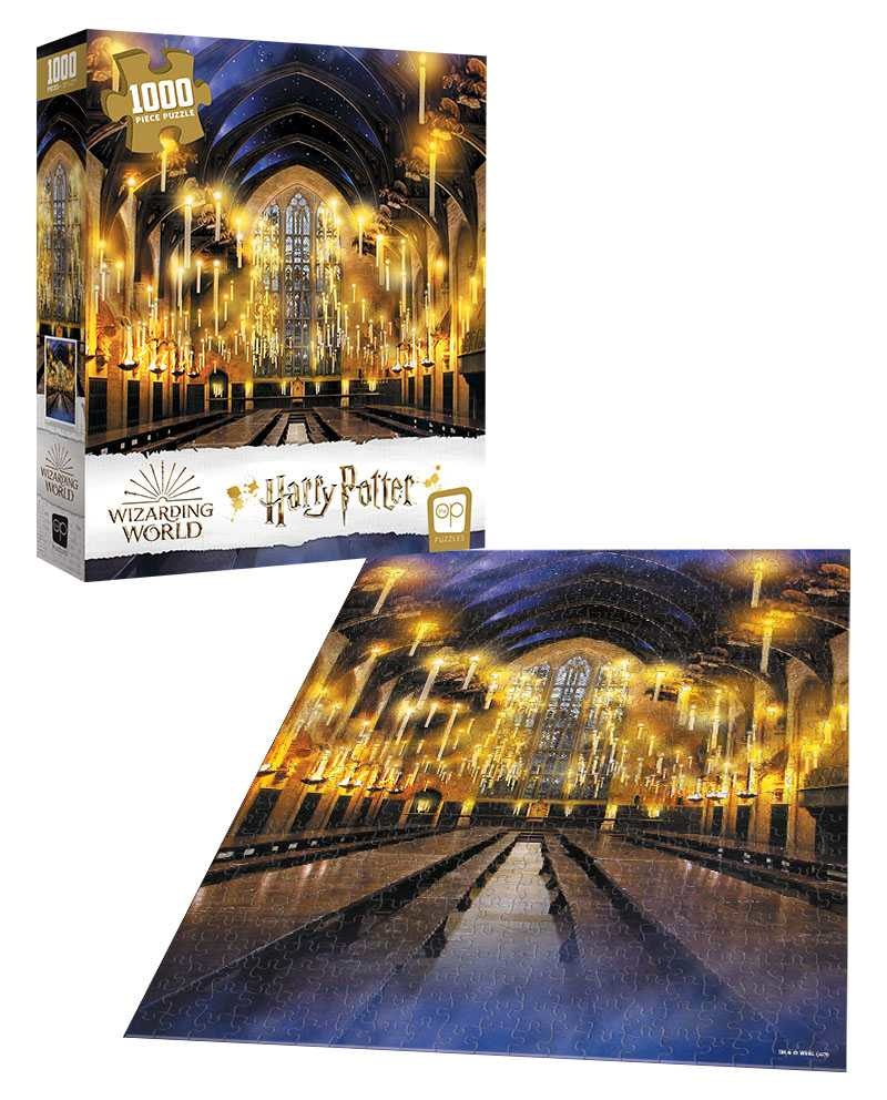 USAopoly Puzzle 1000: Harry Potter - Great Hall