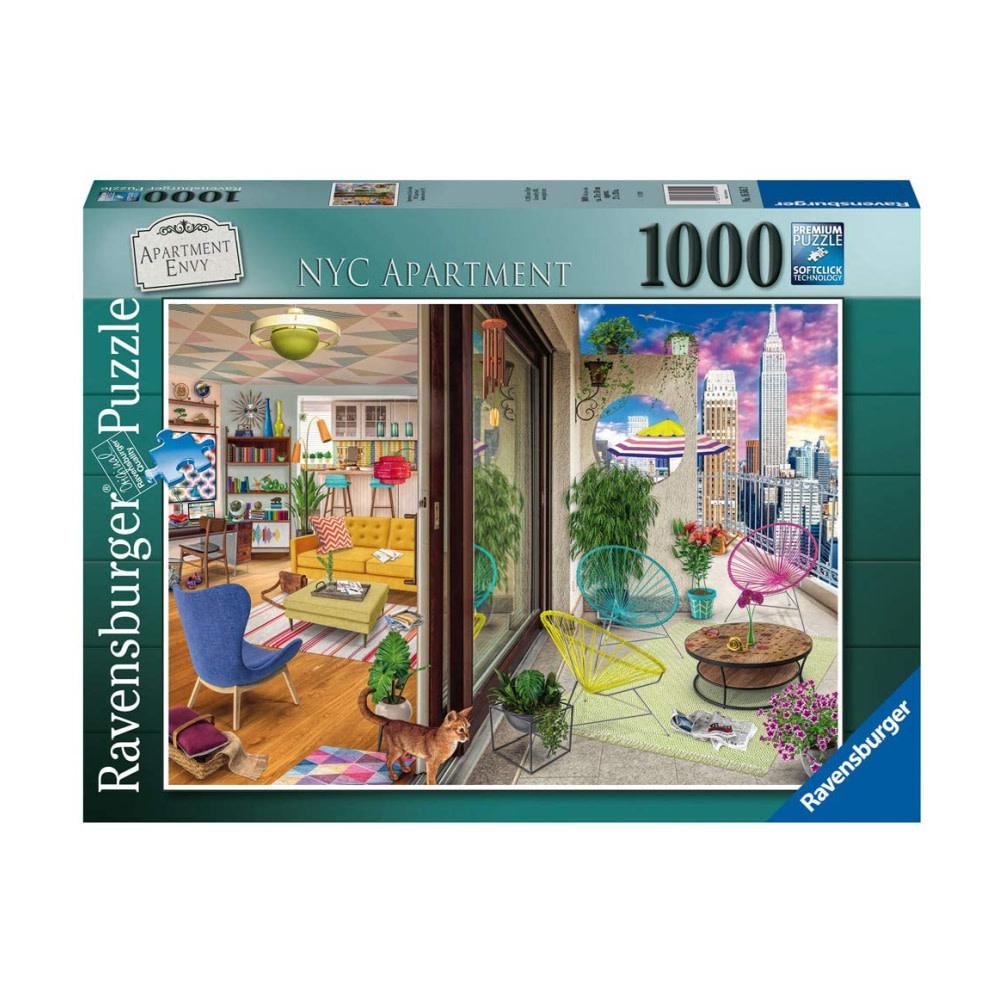 Ravensburger Puzzle 1000: Appartement à New York
