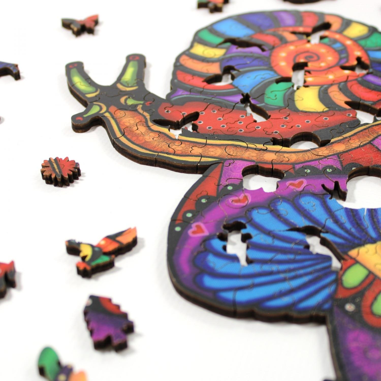 JaCaRou Puzzle en bois:  Enzo