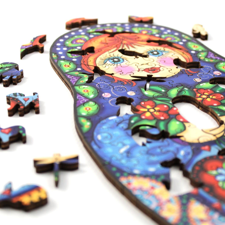 JaCaRou Puzzle en bois: Natalya