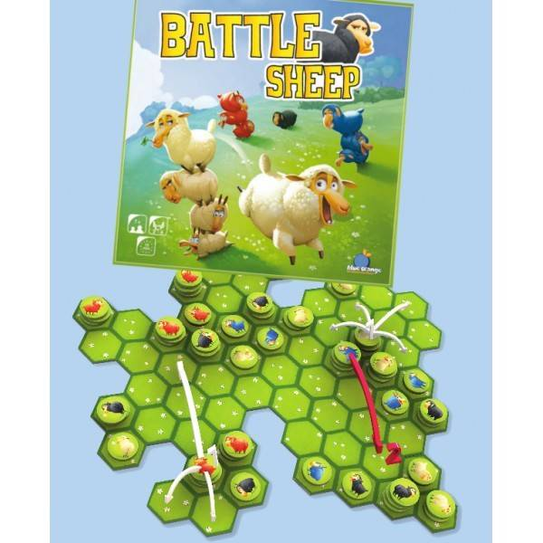 Blue Orange Battle Sheep (multi)