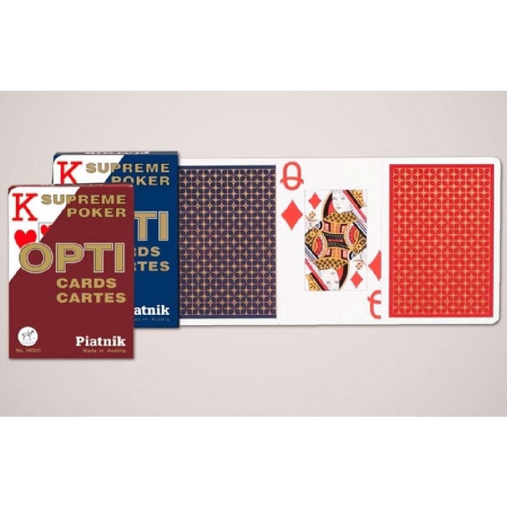 Piatnik Cartes à jouer Poker - Opti