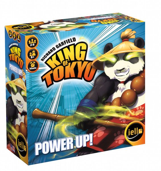 IELLO King of Tokyo: Power Up! 2nd Edition