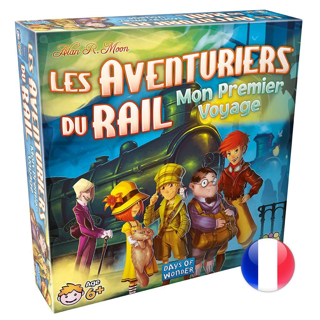 Days of Wonder Les Aventuriers Du Rail : Mon Premier Voyage