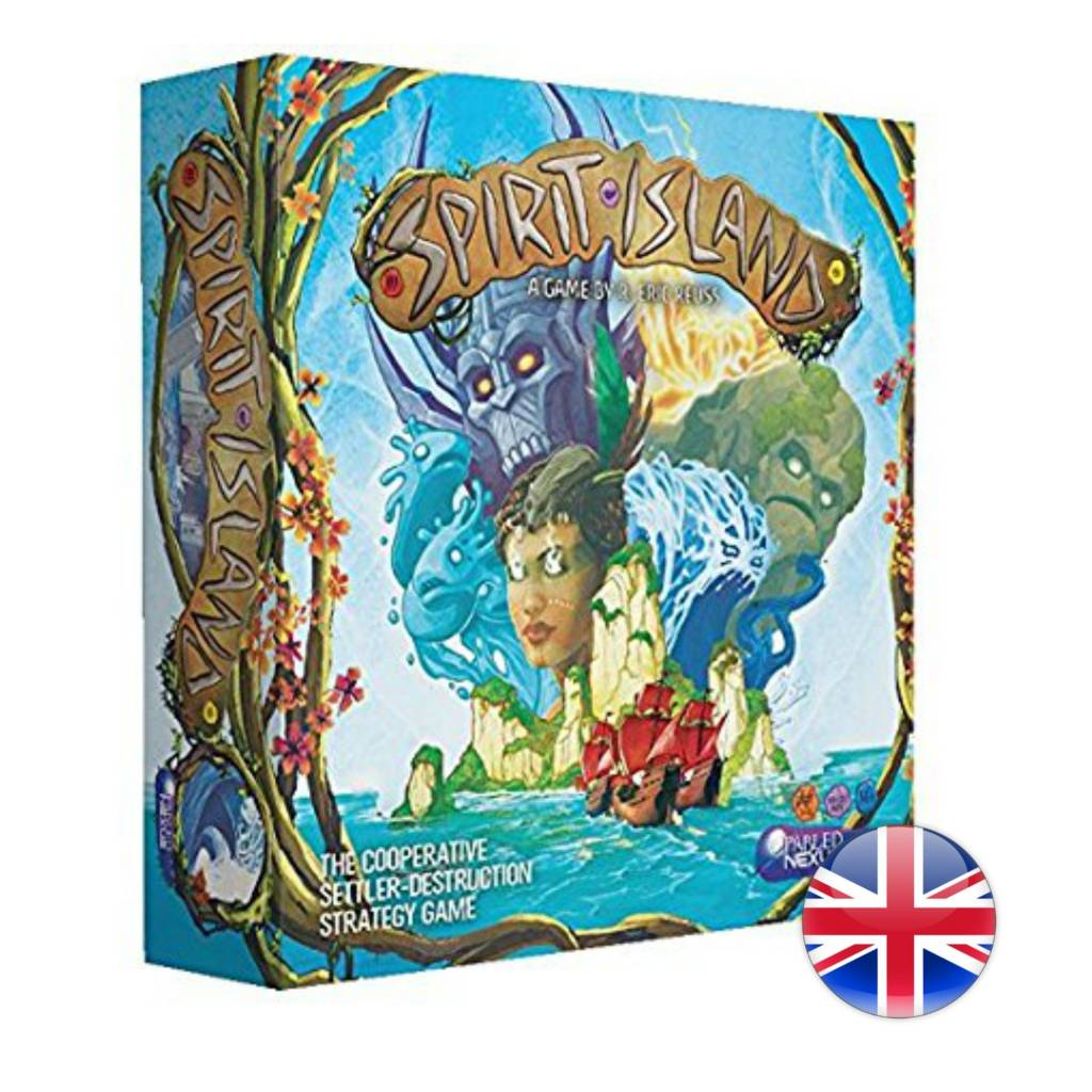 GreaterThanGames Spirit Island - The Cooperative Settler-Destruction Strategy Game