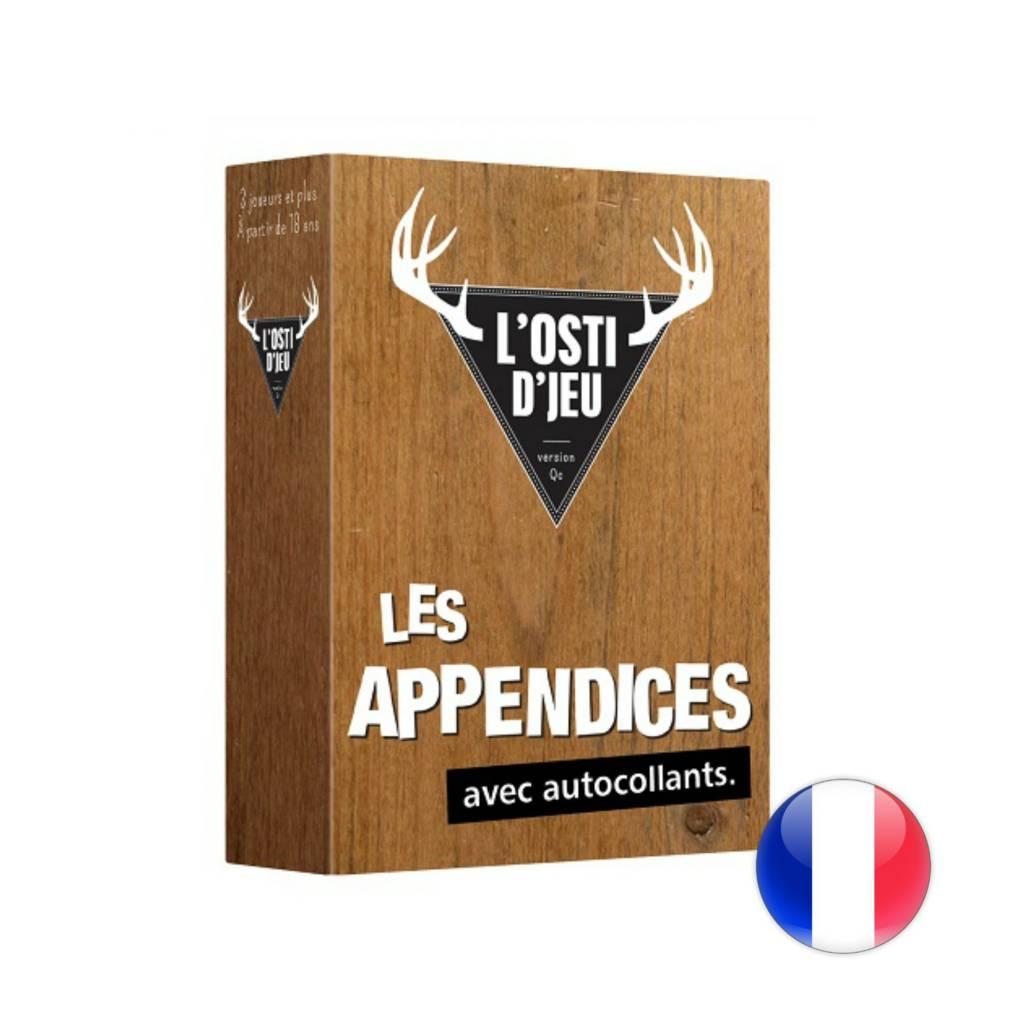 Randolph L'osti d'jeu - Extension Les Appendices