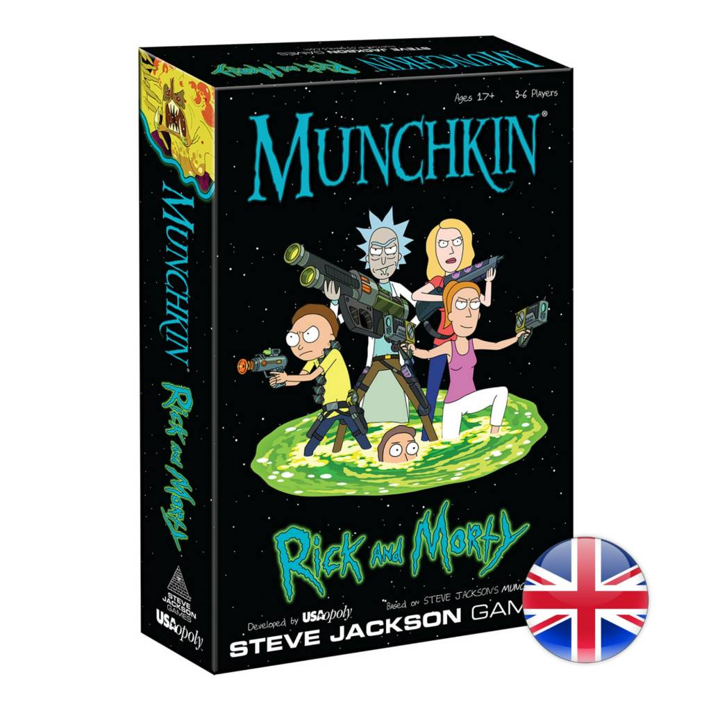 Steve Jackson Games Munchkin Rick and Morty VA