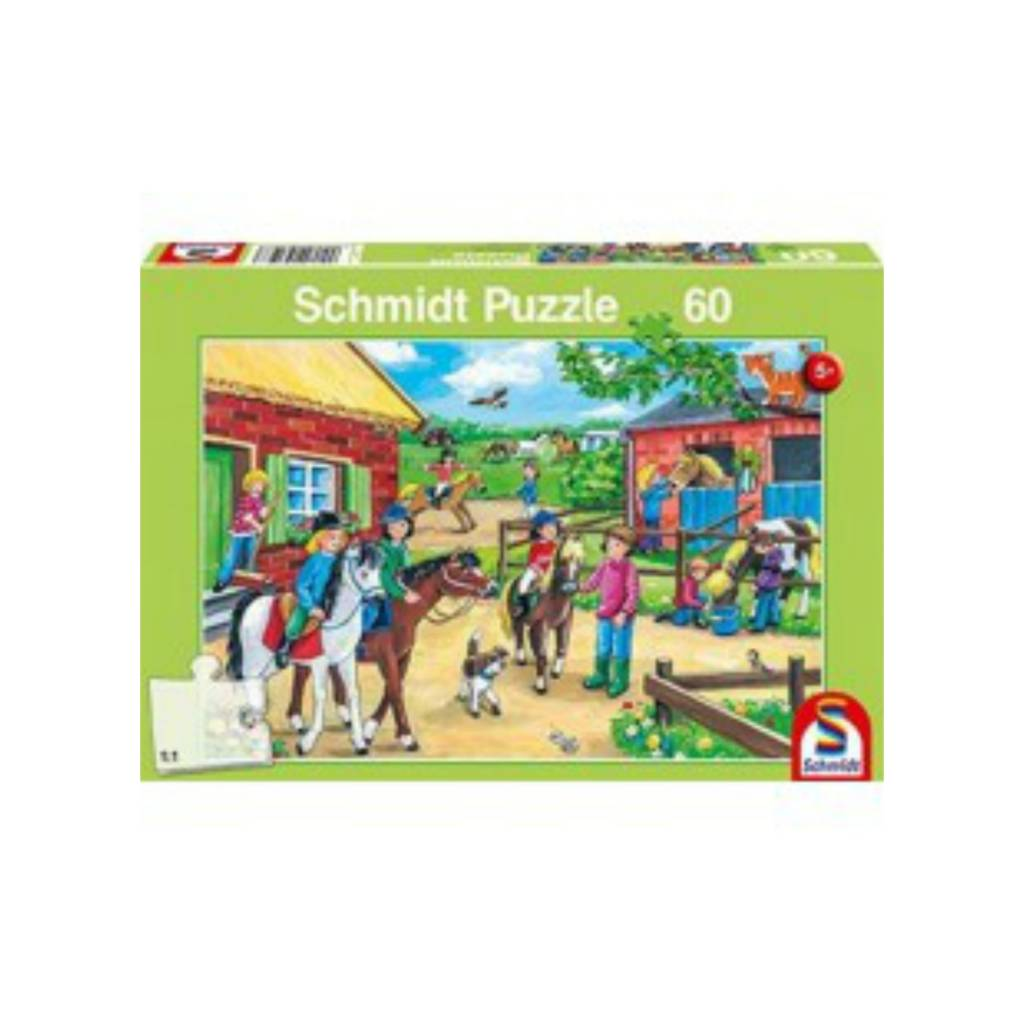 Schmidt Puzzle: Child 60  Holiday At Stables