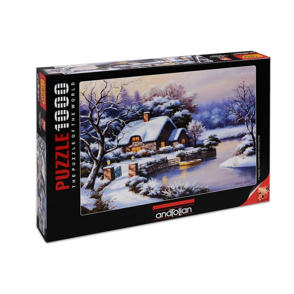 Anatolian Puzzle 1000: Winter Evening Anatolian