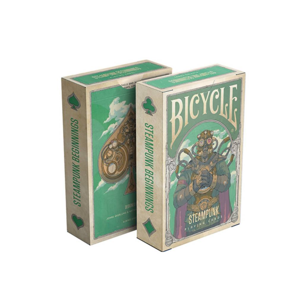 Bicycle Playing Cards: Steampunk Beginnings