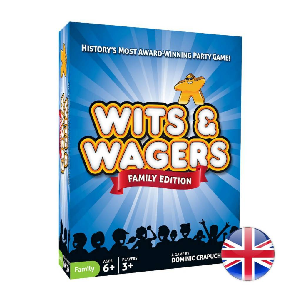 North Star Games Wits & Wagers  Family