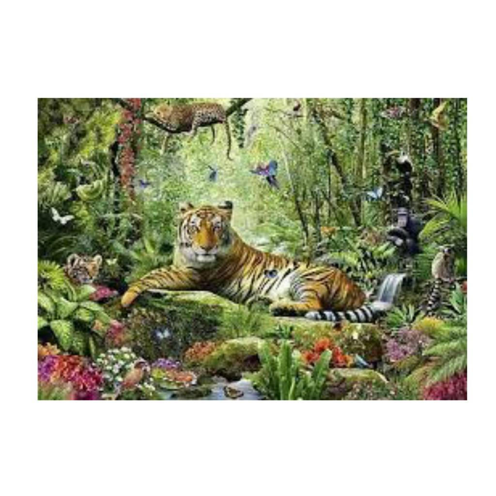 Schmidt Puzzle: 1500 Jungle Tigers